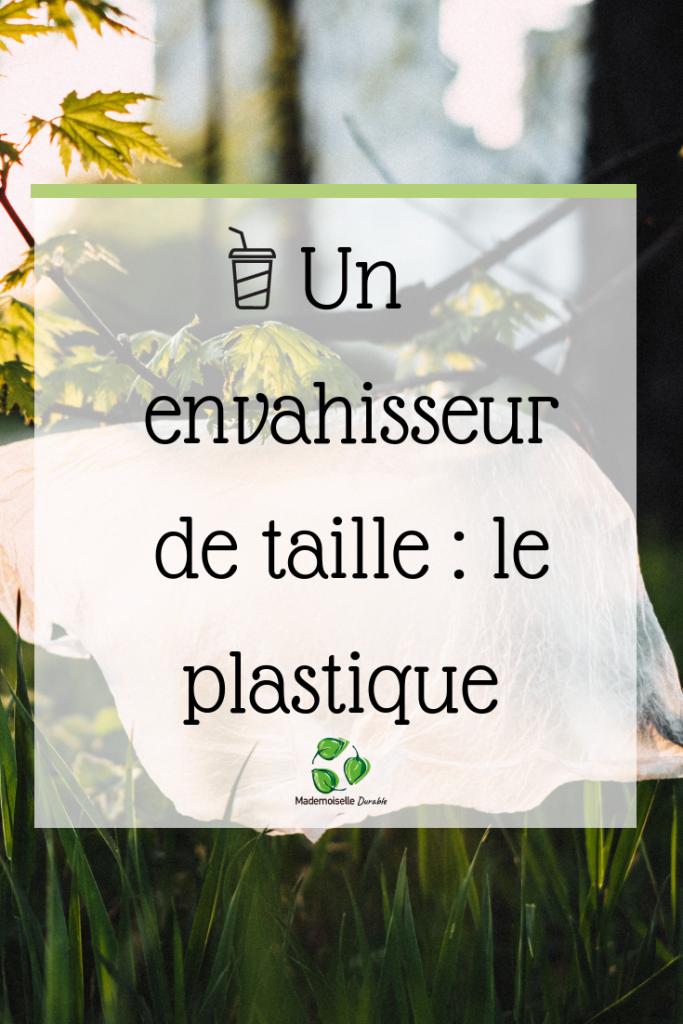 Le plastique pollue